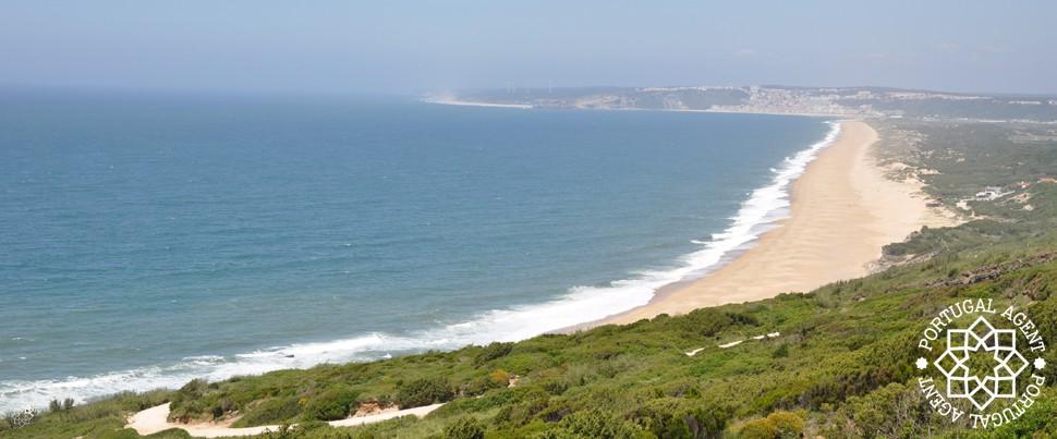 Salgado-strand-nazaré