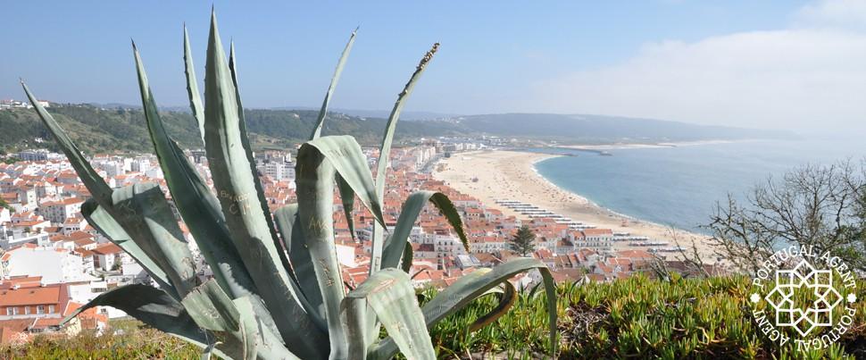 Utsikt-från-Sitio-Nazaré-strand