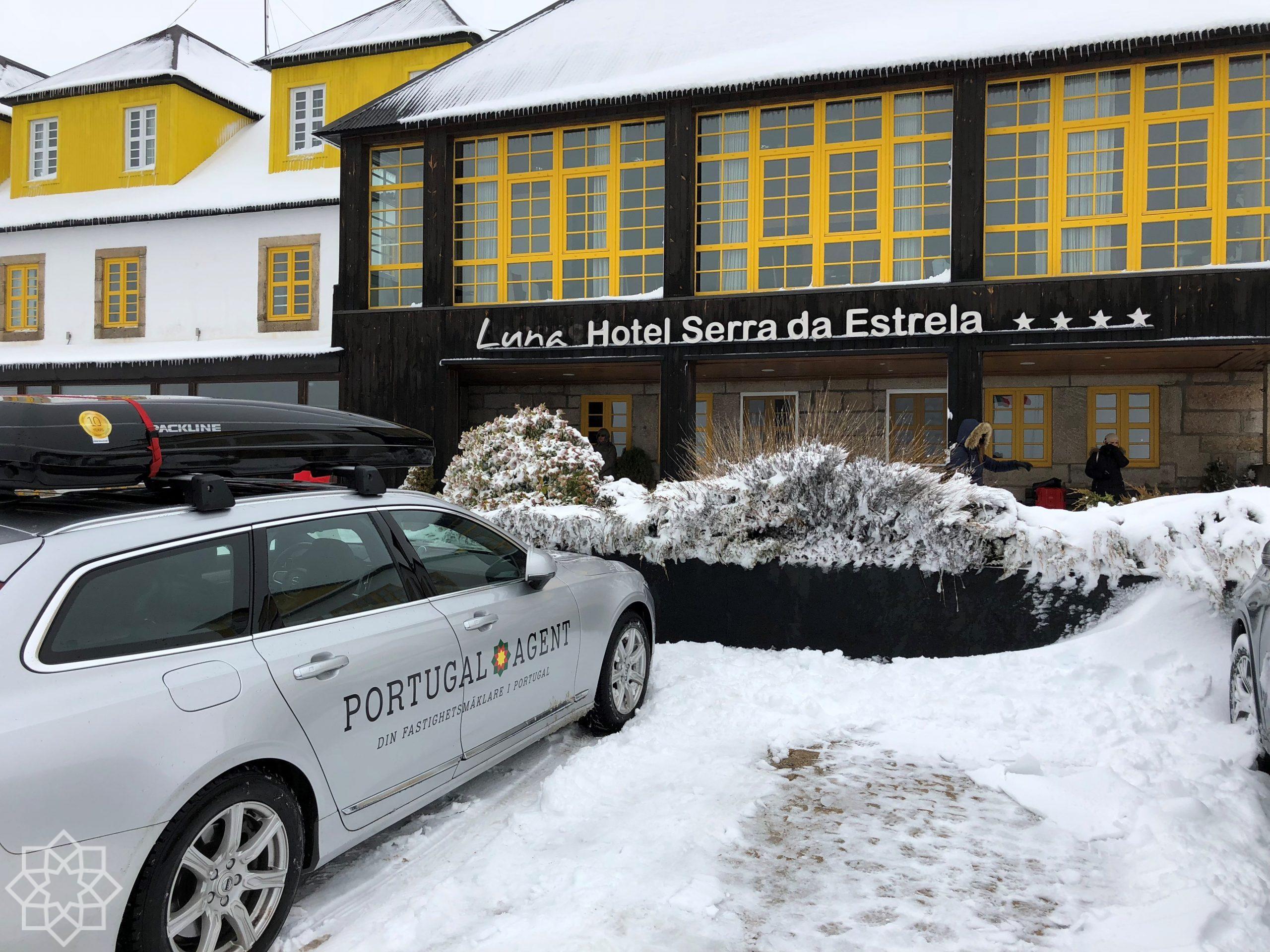 Serra da Estrela är skidorten i Portugal som var stängd pga för mycket snö!