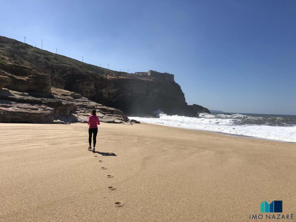 Farol da Nazaré jogging