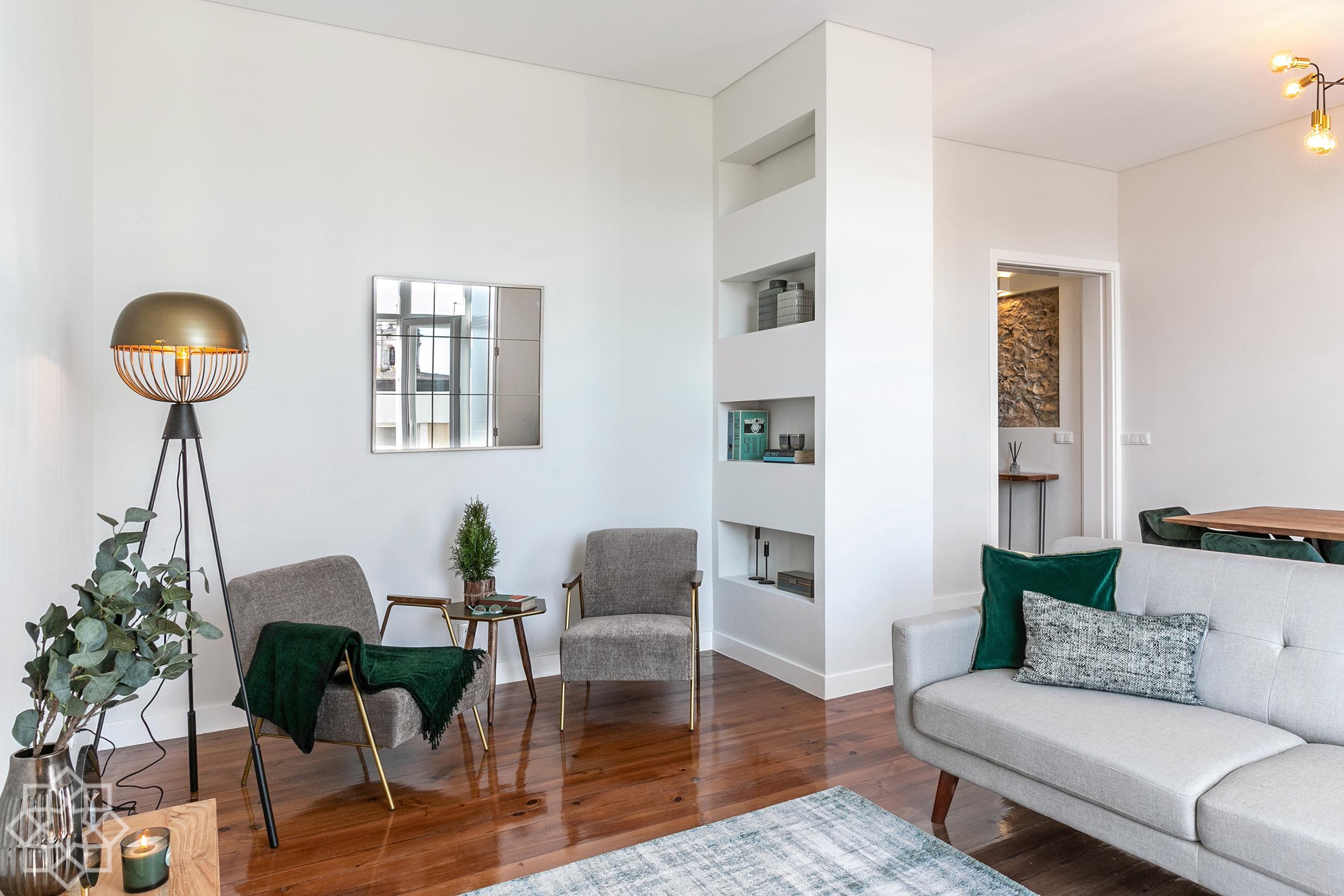 Appartement top de 3 chambres, centre d'Alcobaça