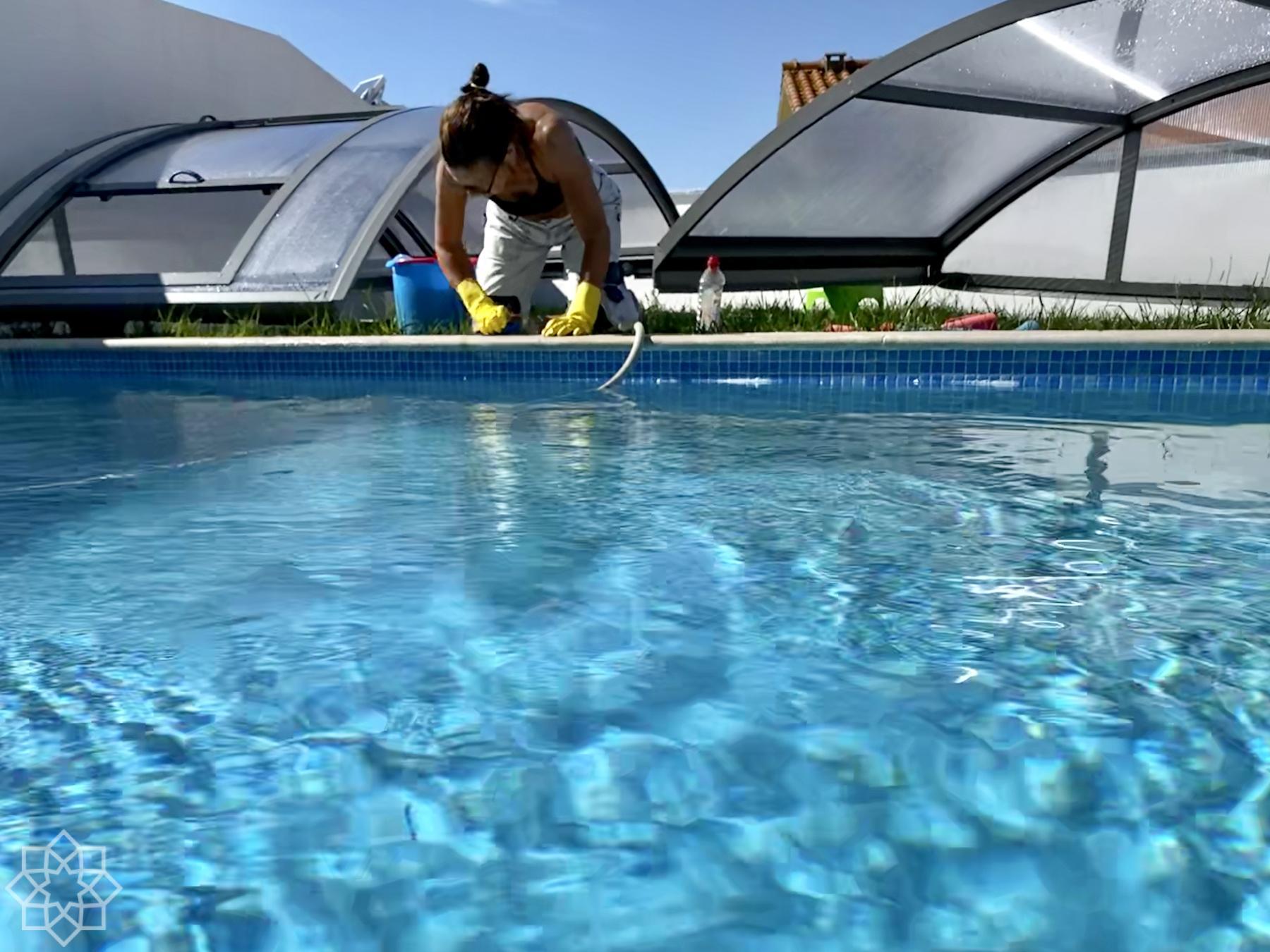 24 grader i vattnet och 24 grader i luften på eftermiddagen