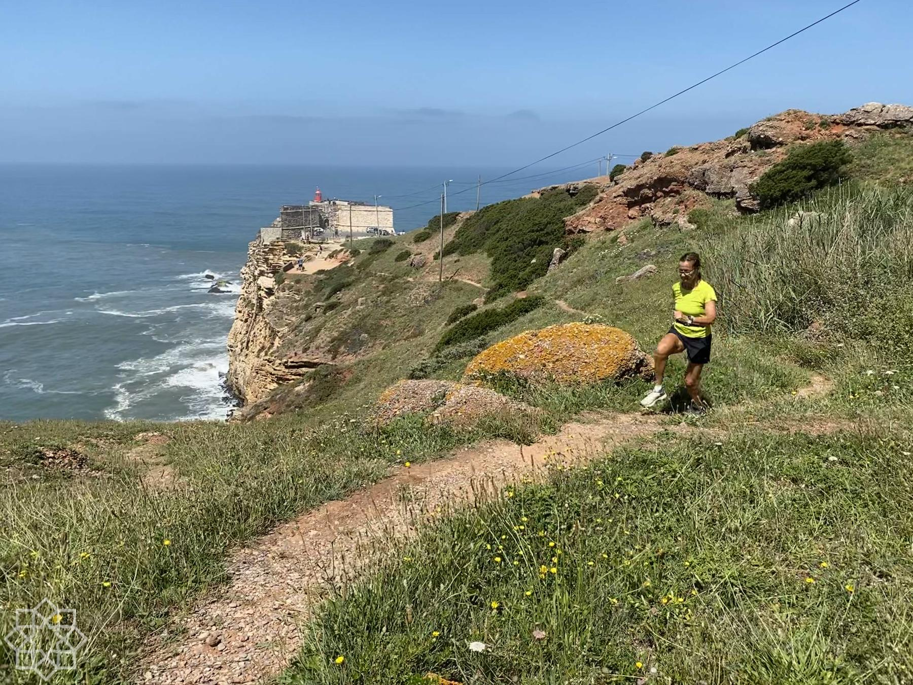 Best jogging and hiking in Nazaré
