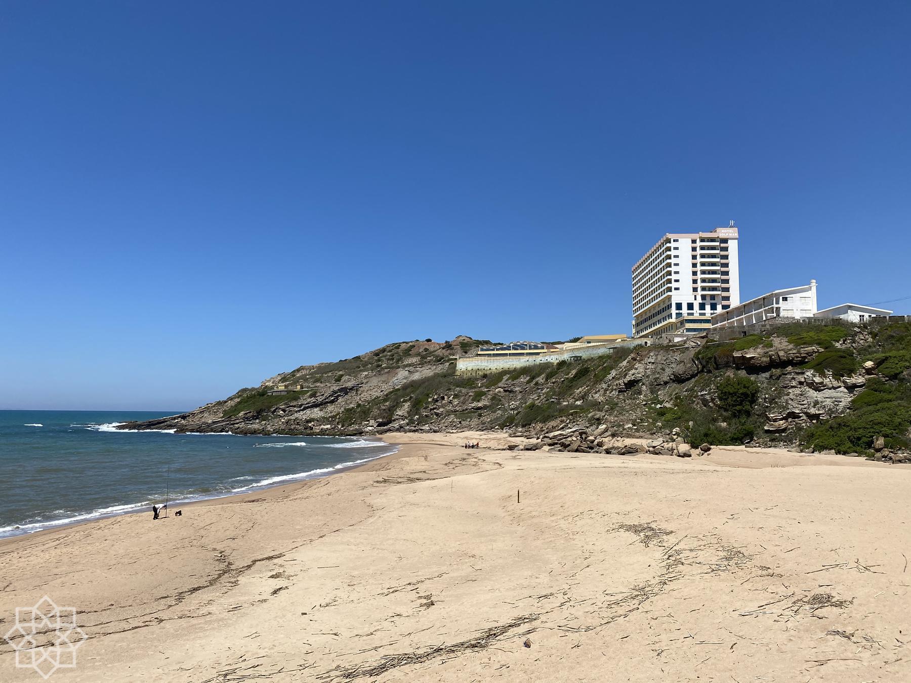 Hotel Golf Mar en bit norrut från Santa Cruz