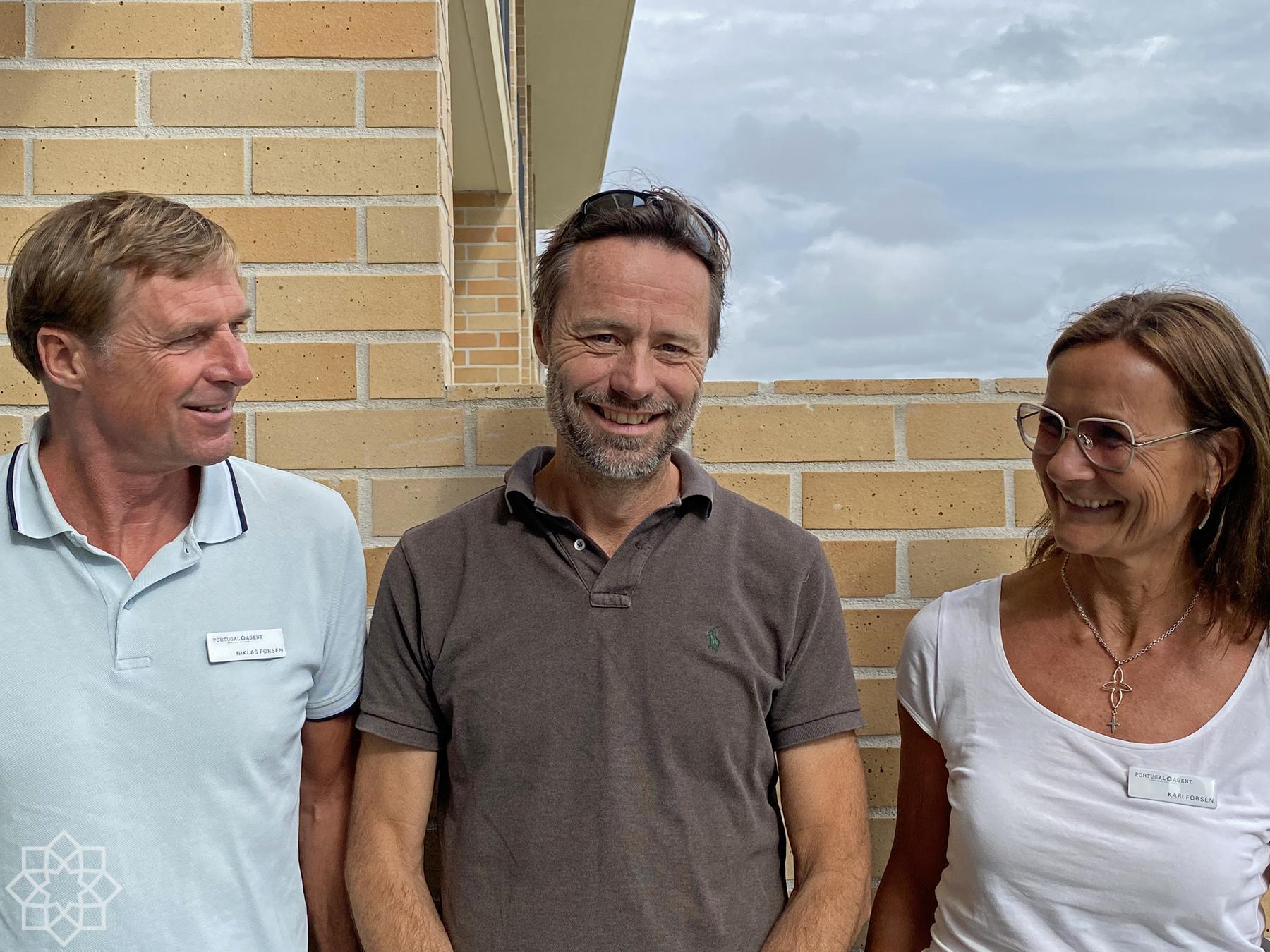 Niklas, Jörgen and Kari