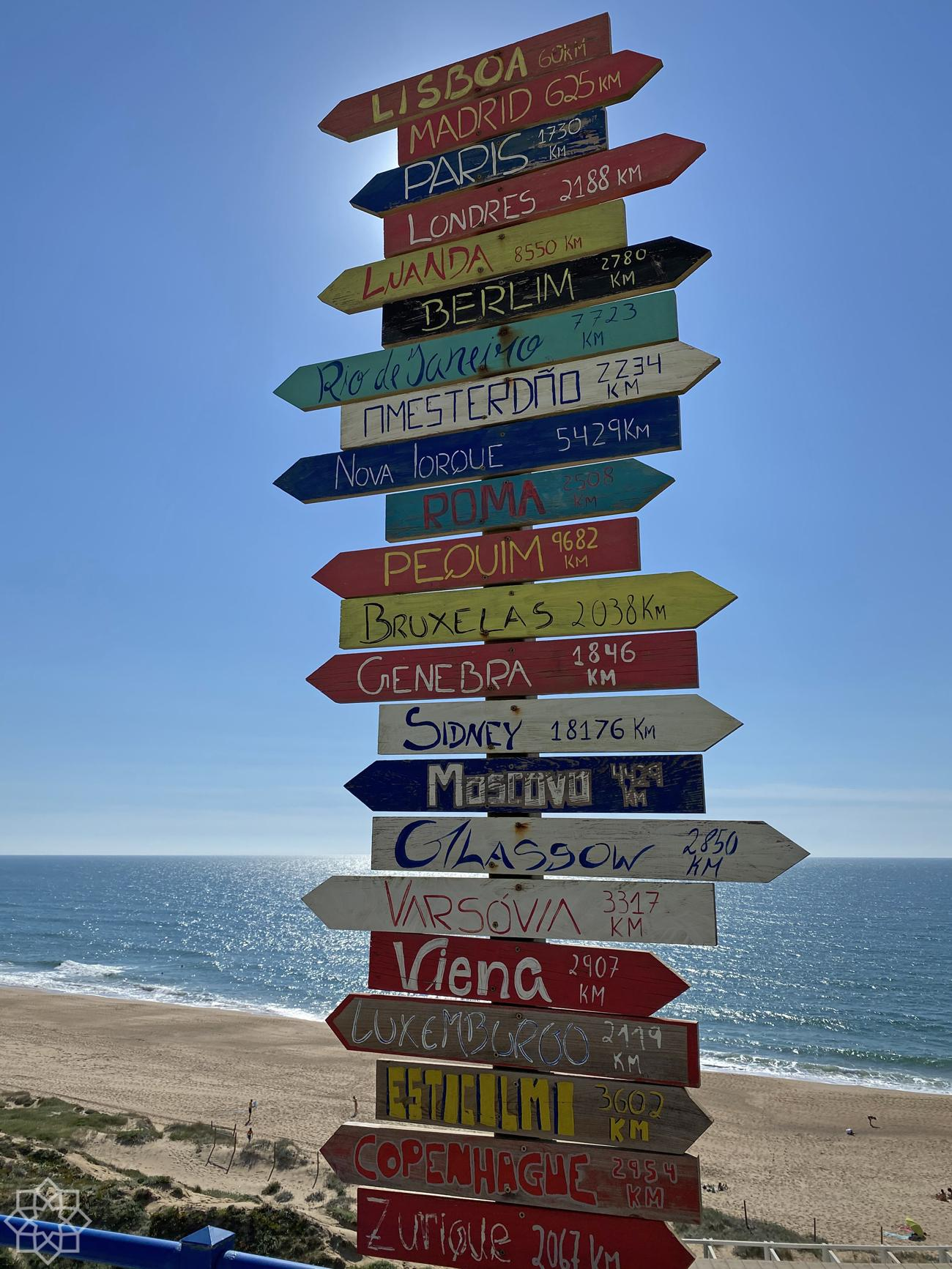 Praia Azul signs
