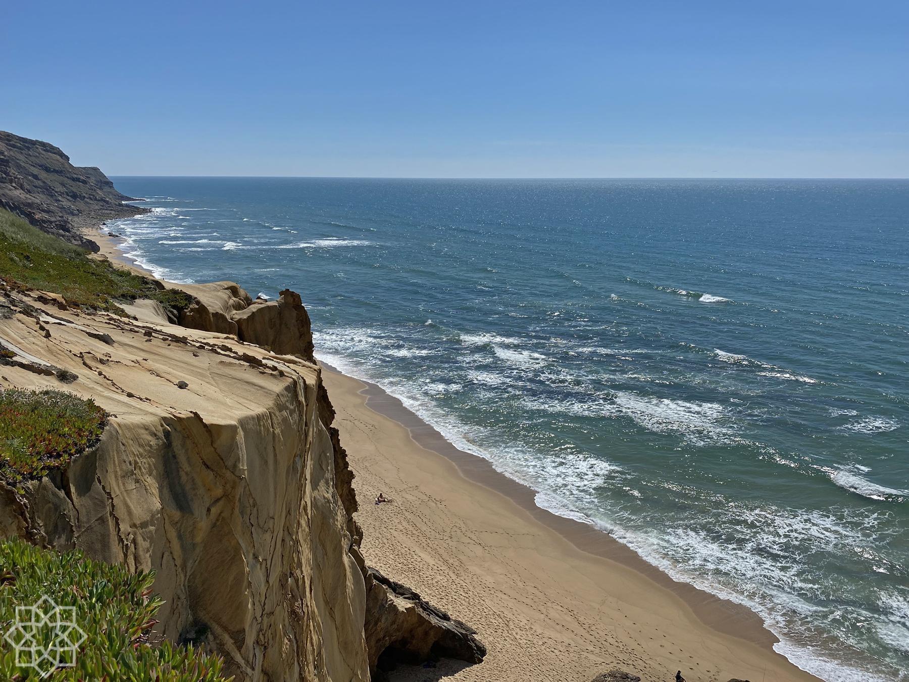 Praia das Amoreias Santa Cruz