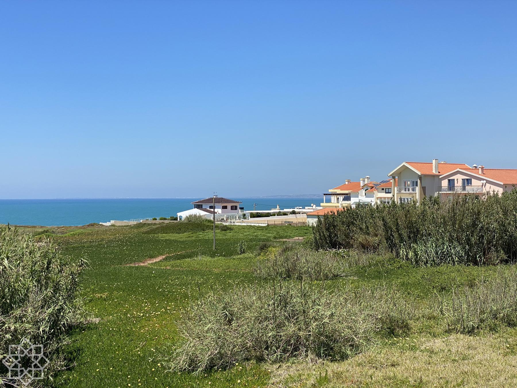 Santa Cruz Costa da Prata med Peniche längst upp i norr