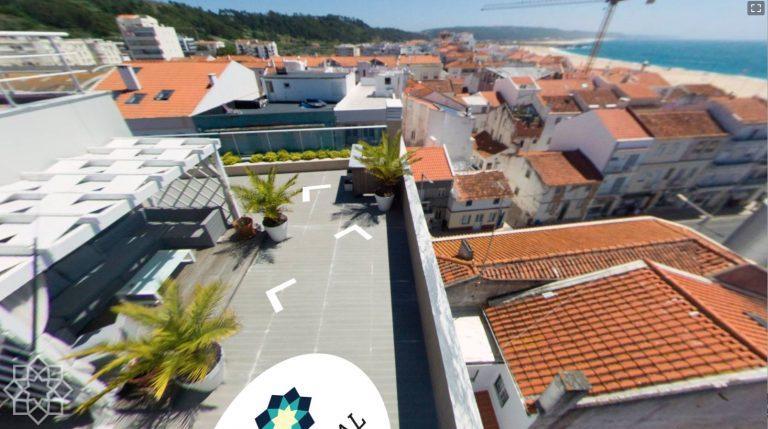 Virtuell rundtur av penthouse