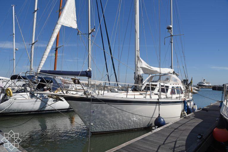 Nauticat 43 ketch