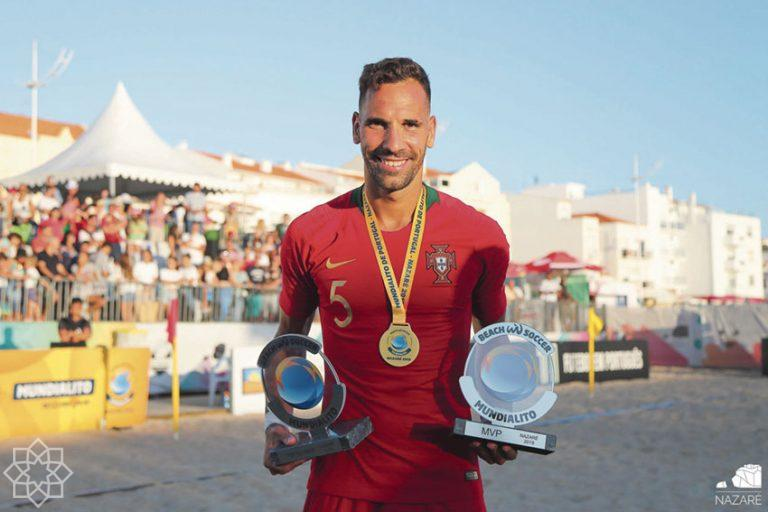 Superfinal of the European League 2020 football beach-Nazaré