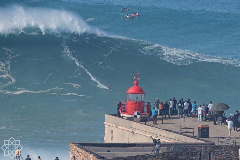 Stora vågor lockar många