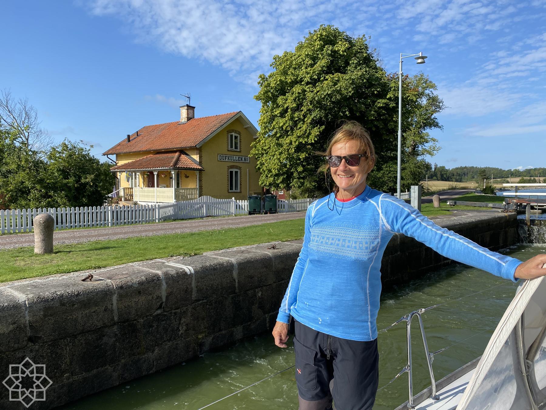 Kari på Göta Kanal