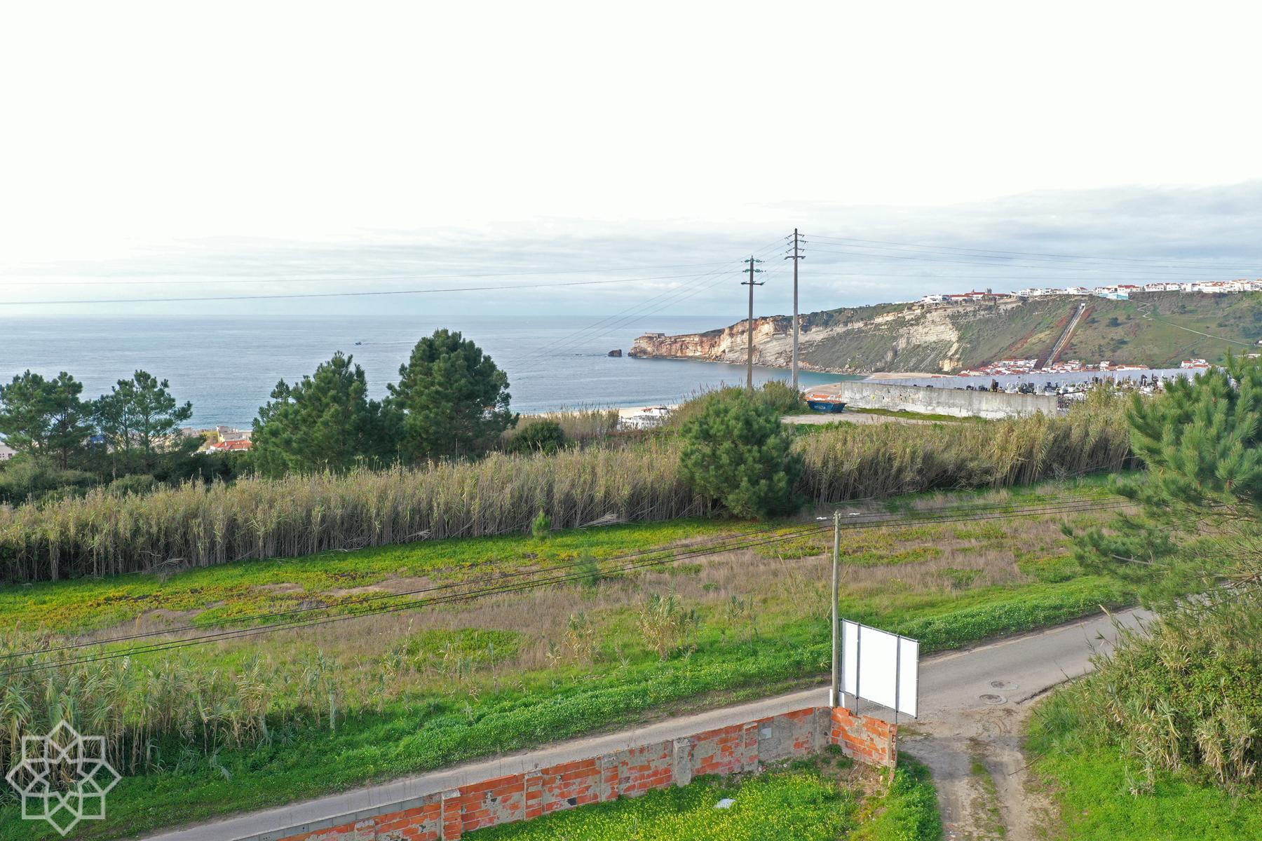 Så här blir utsikten från övre plan i Pederneira