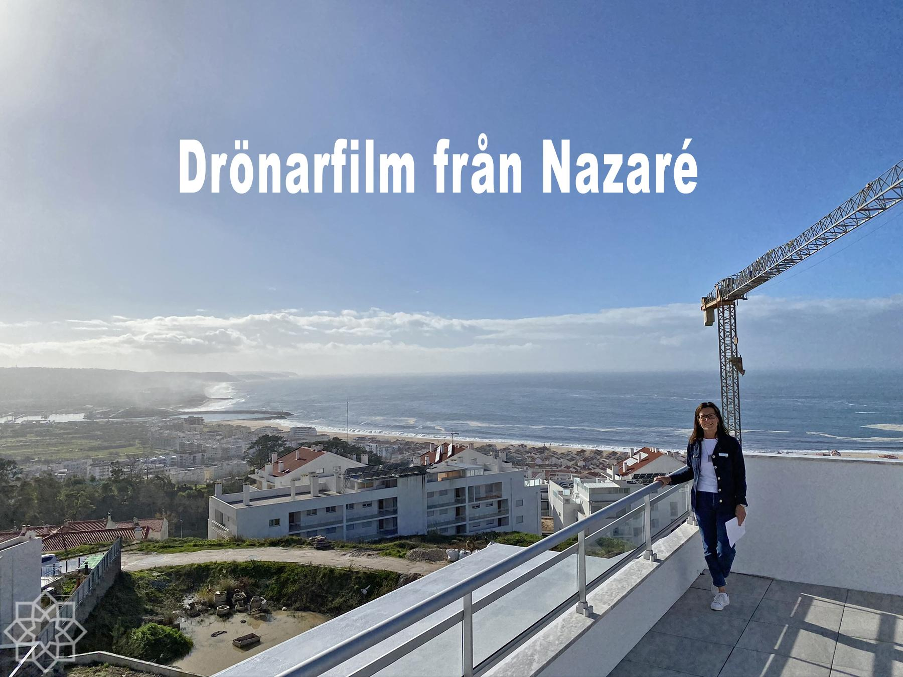 Drönarfilm Nazaré