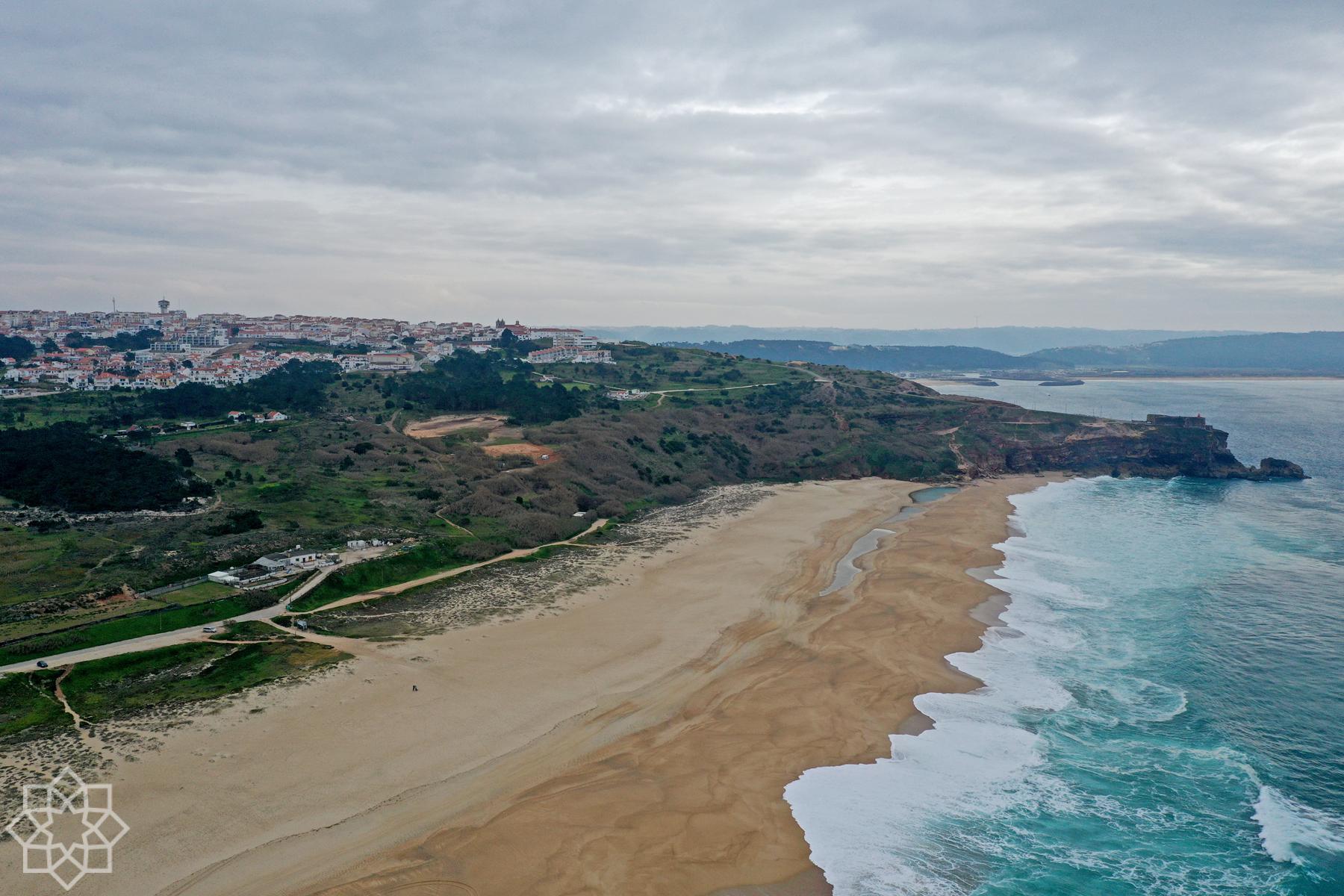 Skönt med värme i Portugal