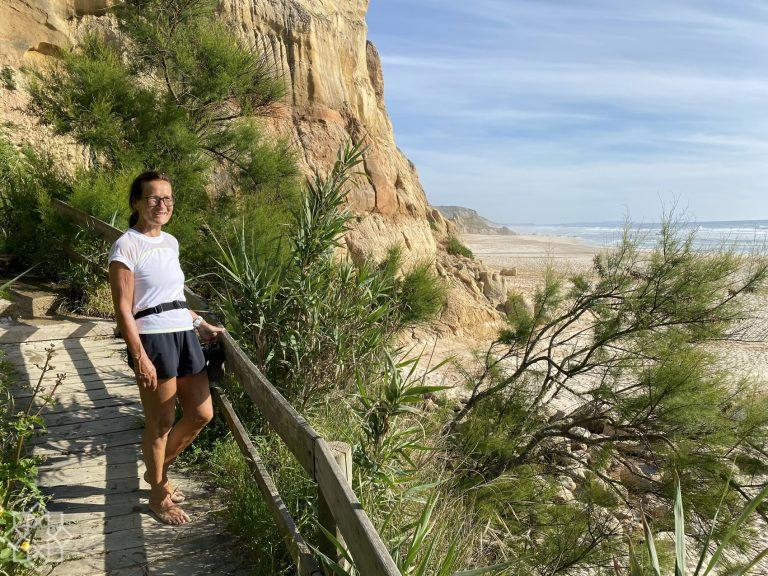 Two hikes north of Nazaré