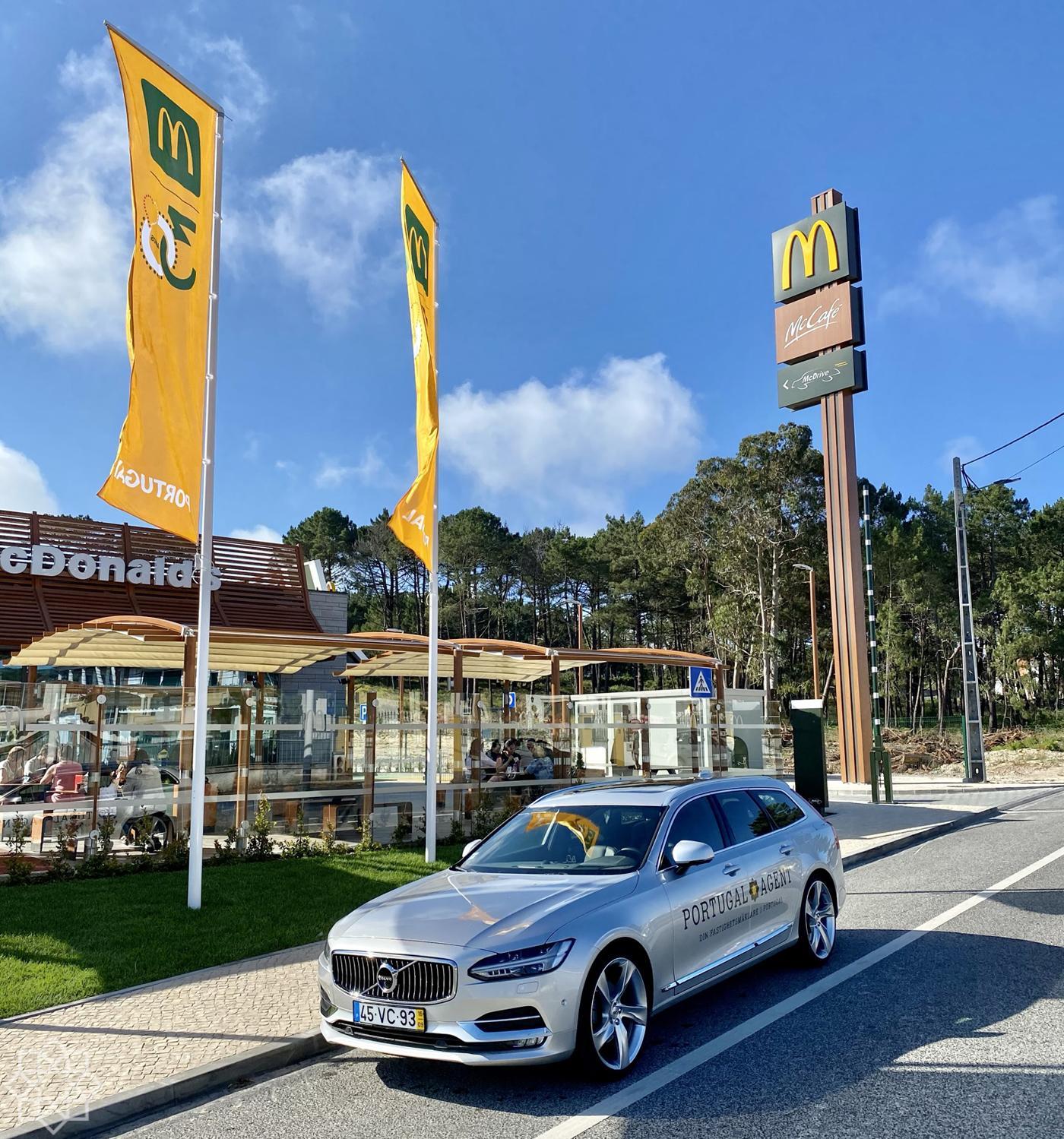McDonald's in Nazaré